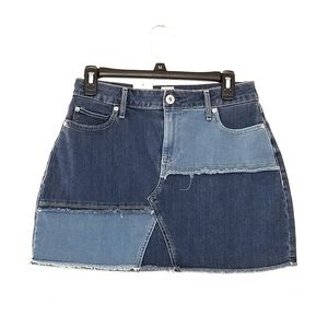 BNWT Destructed Jean Skirt American Rag Juniors